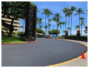 Island Asphalt Maintenance Patching Kona Hawaii
