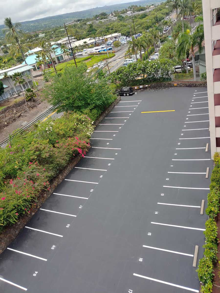 Island Asphalt Maintenance Kailua Village Hawaii