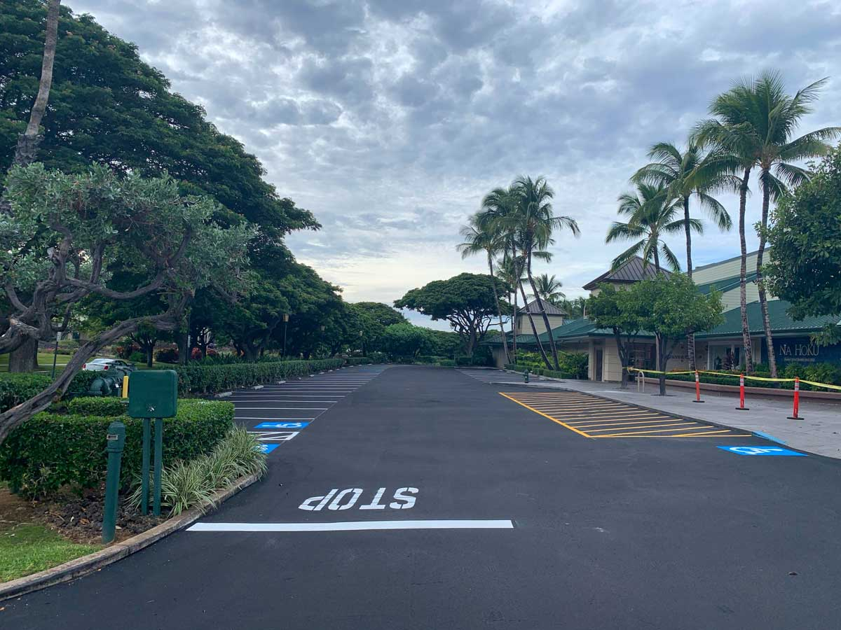 Island Asphalt Maintenance Kings Shops Waikoloa Hawaii 3