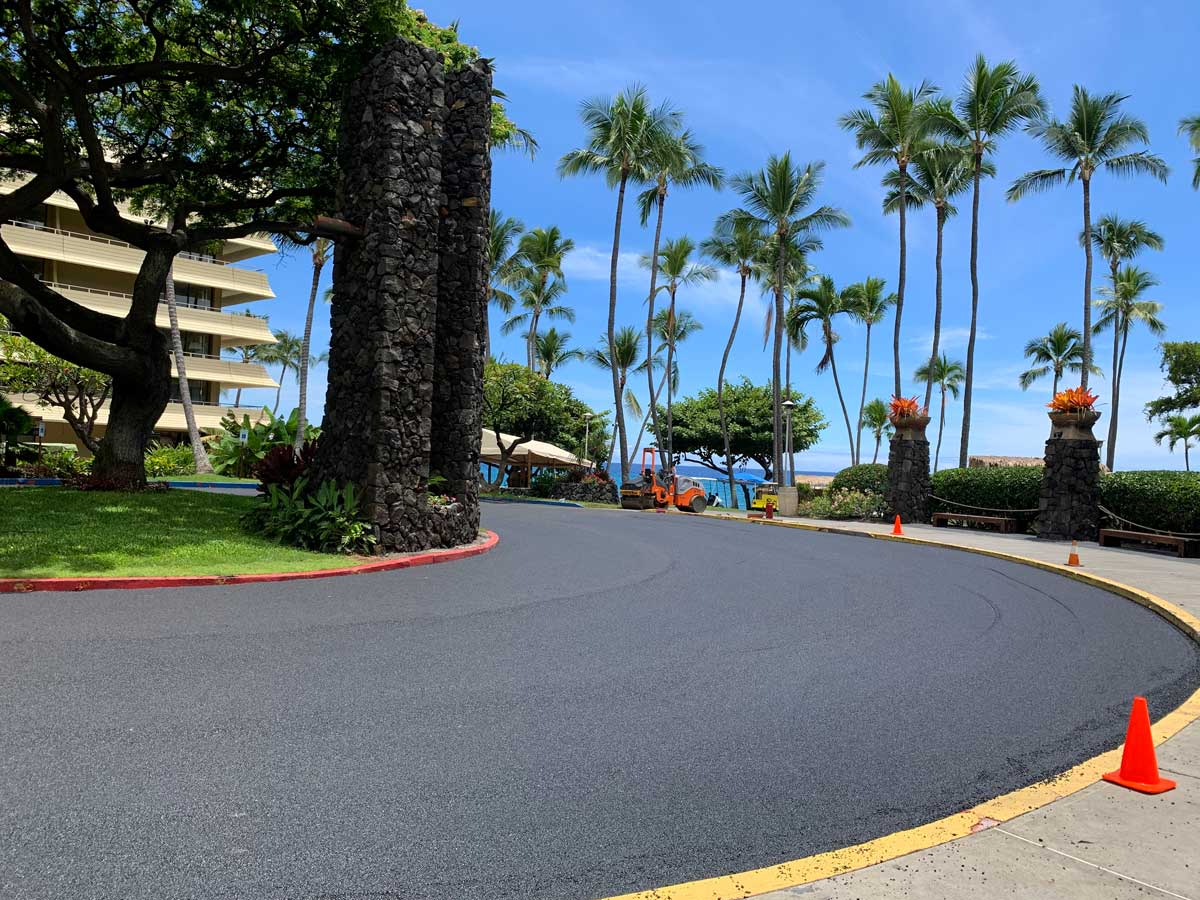 Royal Kona Resort Island Asphalt & Maintenance